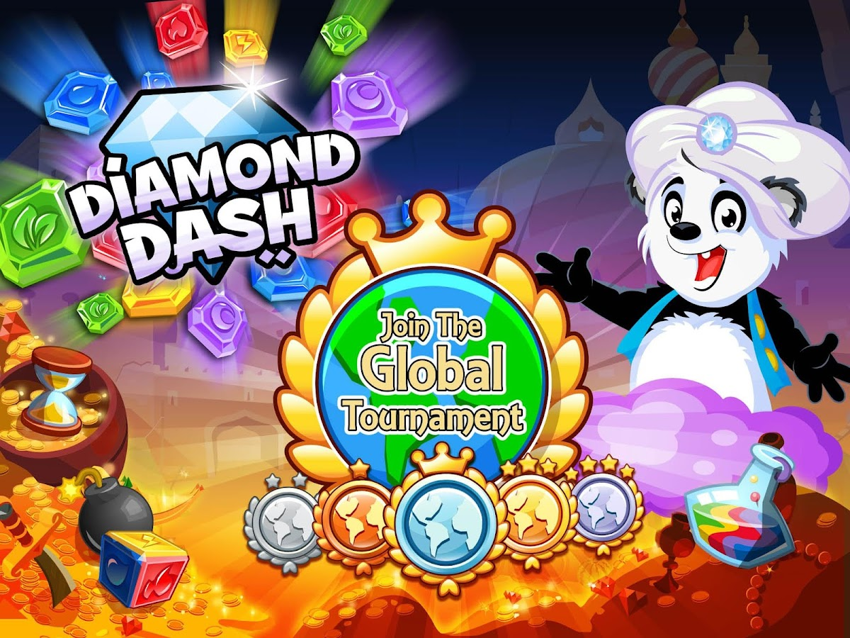 Diamond Dash- screenshot