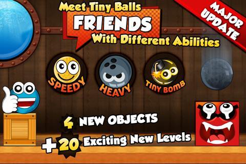 اللعبة الجميلة : Tiny Ball Vs. Evil Devil