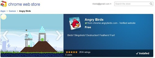 Chrome-Angry-Birds