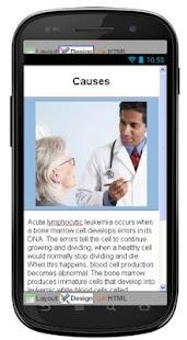 Acute Lymphocytic Leukemia screenshot