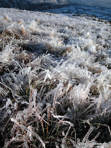 Frozen Gradd on Hart Crag