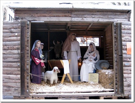 Nativity scene in Cologne.