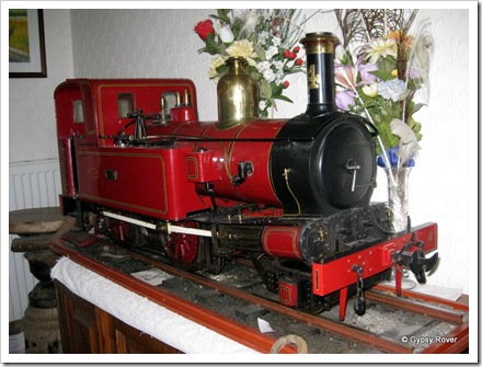 5 inch scale model of a Welsh narrow gauge loco.