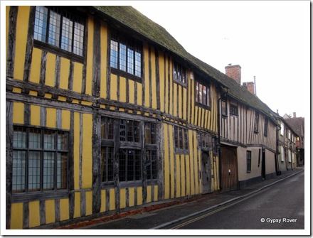 Tudor town of Lavenham, Suffolk.