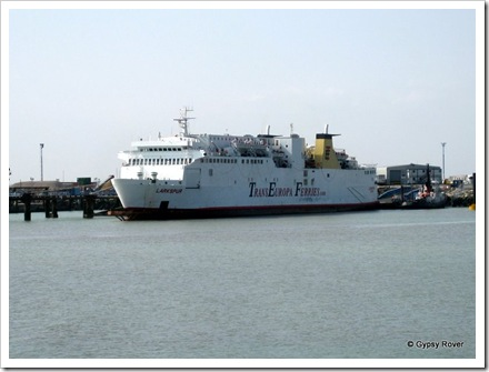 Oostende ferry at Ramsgate.