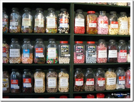 Decisions, decisions! The Candy Shop in Rye.