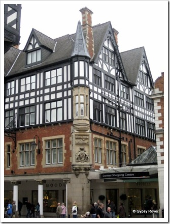 Chester's old Grosvenor Hotel.