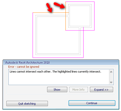 Revit_Warning__Polygon_is_not_closed