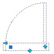 shifted insertion point