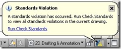 standard violations