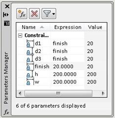parameter manager