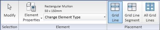 mullion ribbon tab