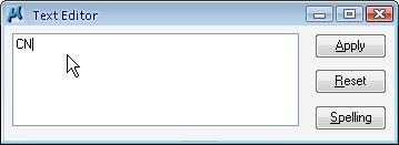 data field text editor