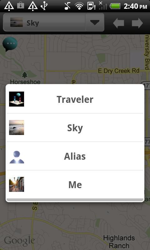 Phone Tracker-IM Map Nav. LE - screenshot