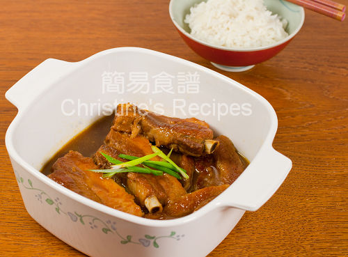 橙汁肉排 Stewed Pork Ribs in Orange Juice02