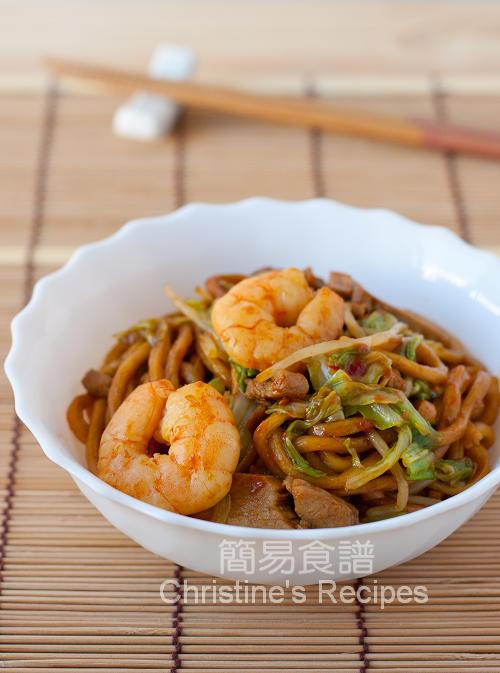 Fried Hokkien Noodles01