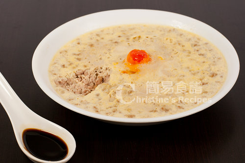 鹹蛋蒸豬肉 Steamed Pork Mince with Salted Egg02