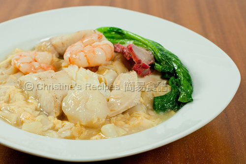 Combination Seafood Rice Noodles02