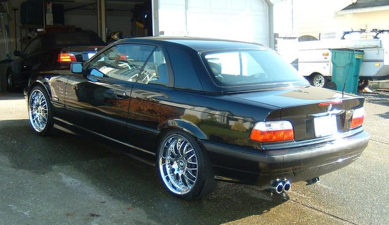 Black E36 Convertible Hardtop