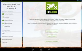 Screenshot of iMotoHR HD