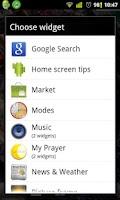 Screenshot of Modes | الاوضاع