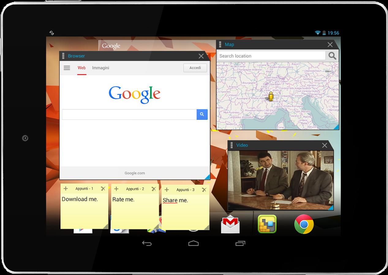 Multitasking - screenshot