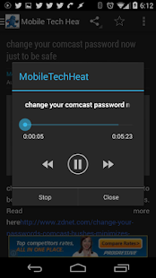 Mobile Tech Heat News- screenshot thumbnail