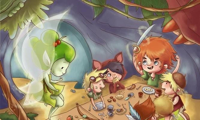 Peter Pan e Capitão Gancho - screenshot