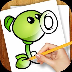 Leren tekenen Plants vs Zombie APK