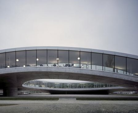 Rolex Learning Center in Lausanne