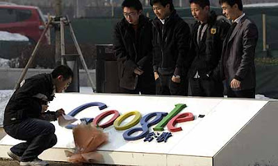 "Google: ""Bye-bye, China!"""