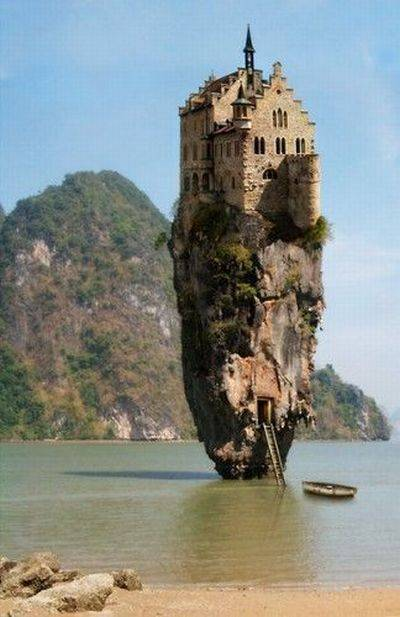 The house on a rock