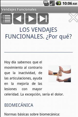 【免費醫療App】Vendajes Funcionales: Tratar-APP點子