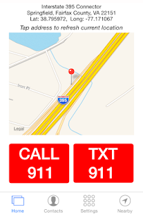 911 Help SMS 911HelpSMS Lite - screenshot thumbnail