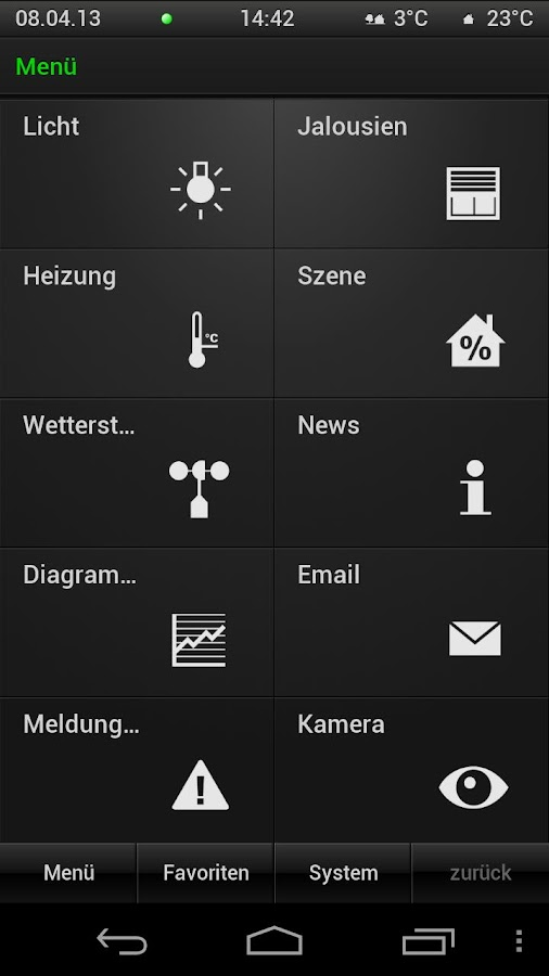 gira homeserver facilityserver android apps auf google play. Black Bedroom Furniture Sets. Home Design Ideas