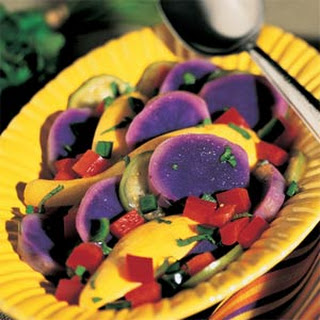 Purple Potato Salad.