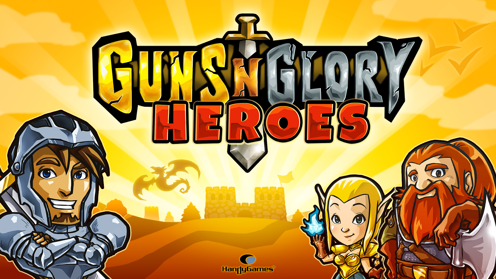 Guns'n'Glory Heroes - screenshot