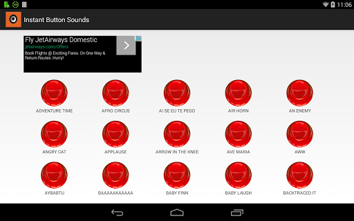 Instant Button Sound Effects
