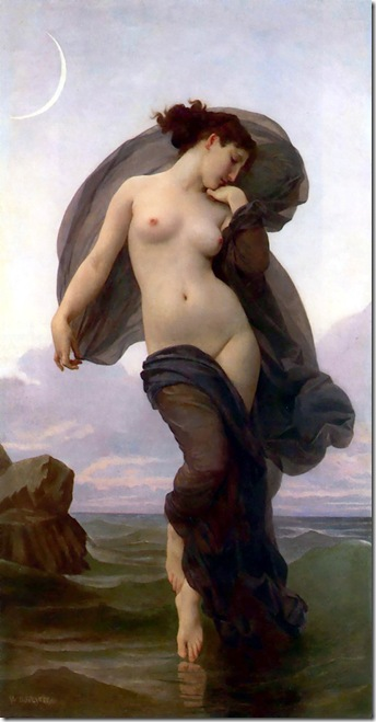 William-Adolphe Bouguereau - Le crepuscule _Twilight_