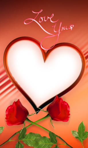 Red Rose Photo Frames