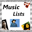 Music Lists icon