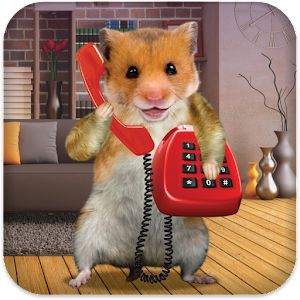 Hamster Phone Call Icon