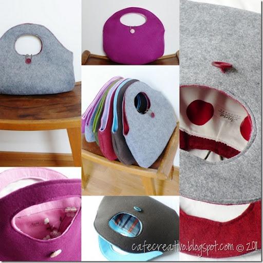 Preferenza Cucito Creativo] Le mie borse: filo, feltro e… fashion - Cafe Creativo NG86
