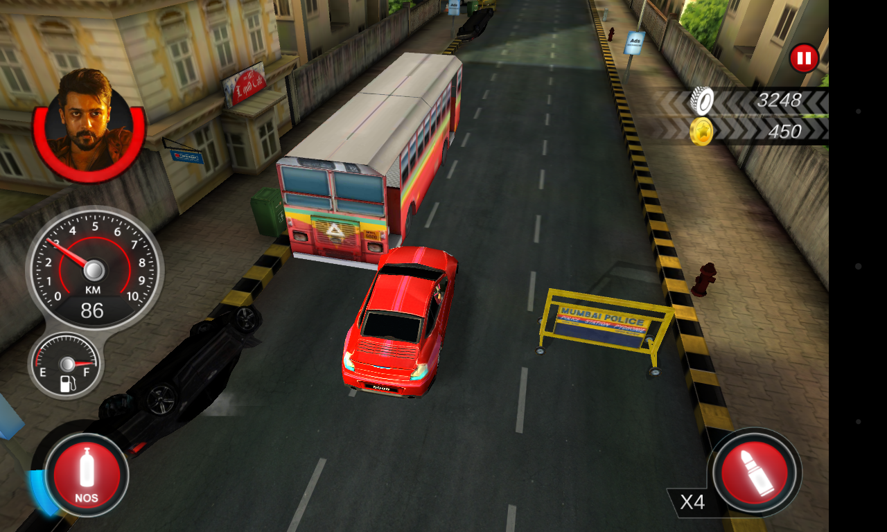 Anjaan race wars screenshot