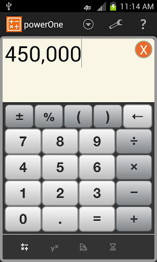 powerOne Finance Calculator