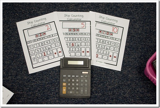 Number Names Worksheets skip counting activity : The First Grade Parade: Skip Counting