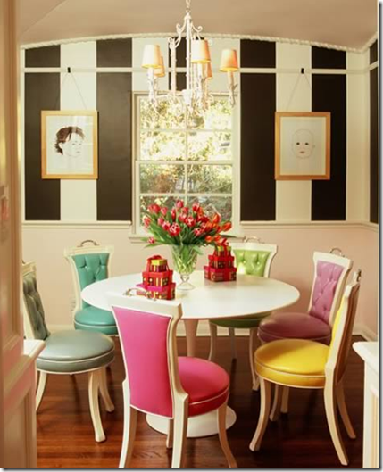 Bright, Colorful, Happy Interiors