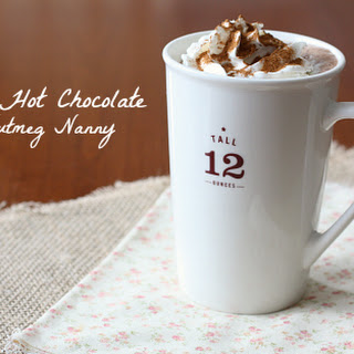 Vitamix Hot Chocolate.