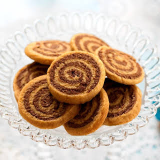 Cookie Butter Pinwheel Cookies.