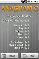 Screenshot of Anagramic